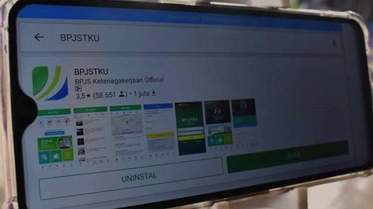 Uninstall dan Install Kembali Aplikasi BPJSTKU