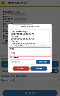 Bayar Lewat BTN Mobile