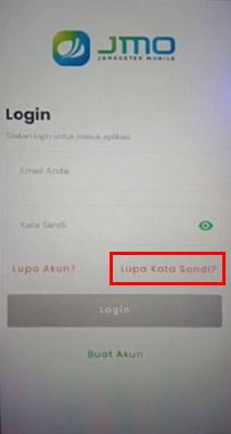 Cara Mengatasi Lupa Password JMO