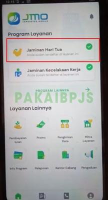 Klaim JHT di Jamsostek Mobile