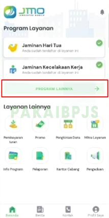 Tracking BPJS di JMO