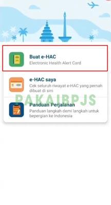cara mengisi ehac indonesia untuk penerbangan