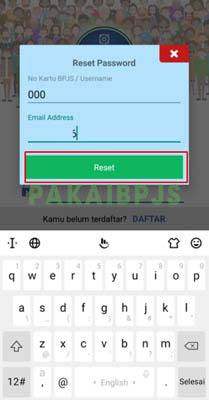 lupa username dan password bpjs kesehatan