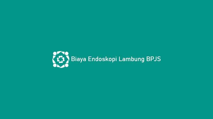 Biaya Endoskopi Lambung BPJS